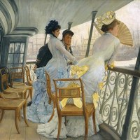Flirtation and Attraction by James Tissot