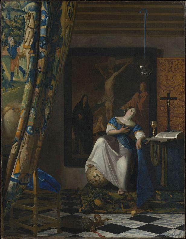 """""""The Allegory of Faith"""" by Johannes Vermeer"""