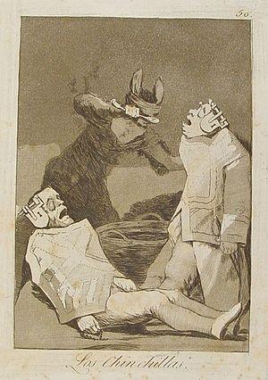 Capricho nº 50: Los Chinchillas de Goya, serie...