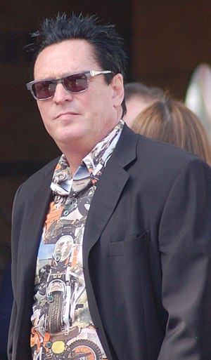 English: Michael Madsen attending a ceremony f...
