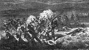 etching of the Mountain Meadows Massacre
