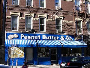 Peanut Butter & Co. sandwich shop near Washing...
