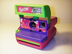 English: Polaroid Barbie Pink Instant 600 Film...