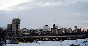 Broadway Bridge and the Central Business Distr...