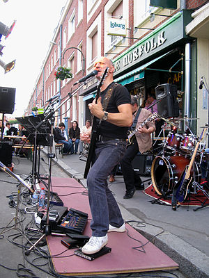 Amiens (Somme, France) - Fête de la musique. L...