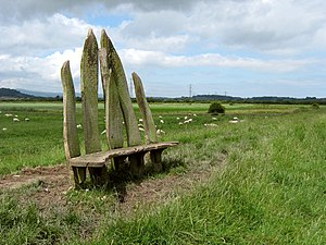 An unusual bench on the Parrett Trail [1]