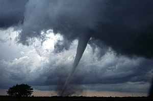 One of several tornadoes observed by the VORTE...