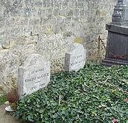 Mộ của Vincent và Theo van Gogh tại nghĩa trang Auvers-sur-Oise