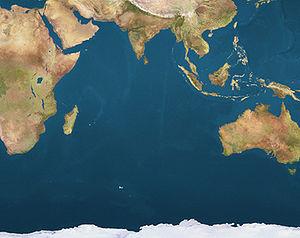 Saint-Paul is located in Indian Ocean