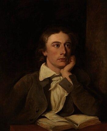 John Keats, by William Hilton (died 1839). See...
