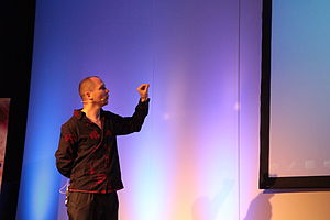 English: Jonathan Blow at the Game Developers ...
