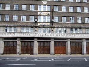 The London Fire Brigade's headquarters is at L...