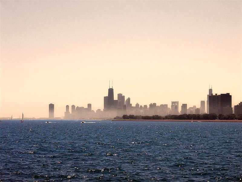 Lake Michigan skyline