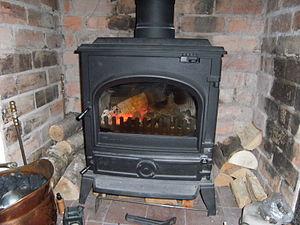 English: a multifuel stove
