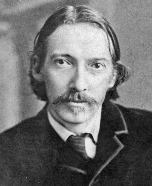 English: photograph of Robert Louis Stevenson