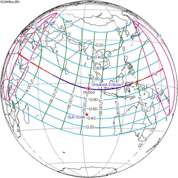 Solar eclipse of November 14 2050 WikiVisually