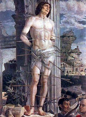 St. Sebastian, Andrea Mantegna, 1456–59, Musée...