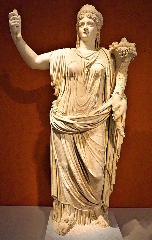 Statue of Deified Empress Livia - Altes Museum
