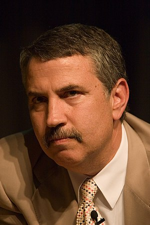 Thomas Friedman, American journalist, columnis...