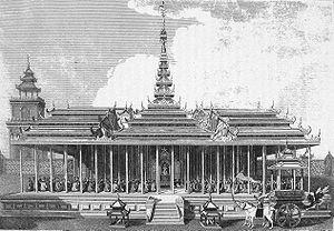 Amarapura palace (British Embassy Michael Syme...