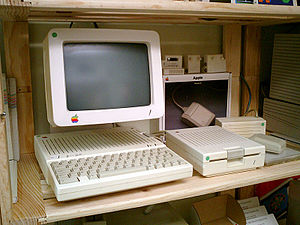 The Apple IIc was Apple's first compact and po...