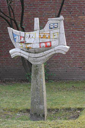 Nederlands: Beeld van Ark van Noach, voor de p...