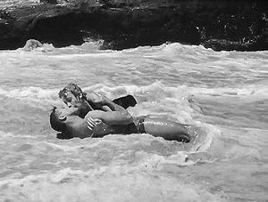 Cropped screenshot of Burt Lancaster and Debor...