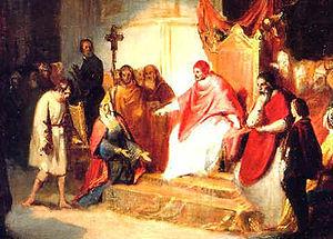 Italiano: Enrico IV del Sacro Romano Impero in...