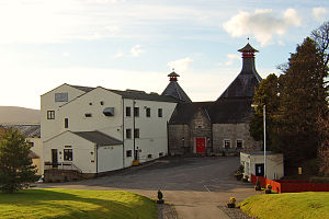 English: Cardhu distillery near Aberlour in Ba...