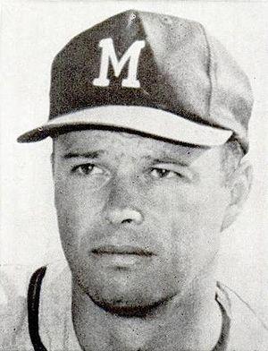 Circa 1963 head shot photograph of American ba...