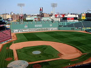 Fenway Park, home of the Boston Red Sox, Bosto...