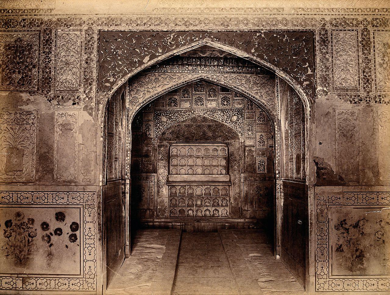 File Interior Of The Taj Mahal India Wellcome V0037719