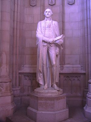 English: Statue of George Washington by Lee La...