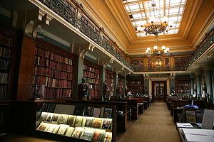 English: National Art Library, at Victoria and...