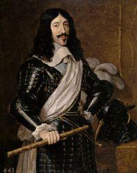Luigi XIII re di Francia. Ritratto da Philippe de Champaigne