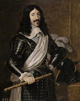 Luis XIII, rey de Francia (Philippe de Champaigne)