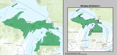 MI 1Michigan US Congressional District 1 (since 2013).tif