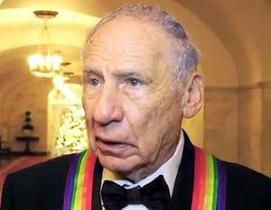 Mel Brooks at the White House for the 2009 Ken...