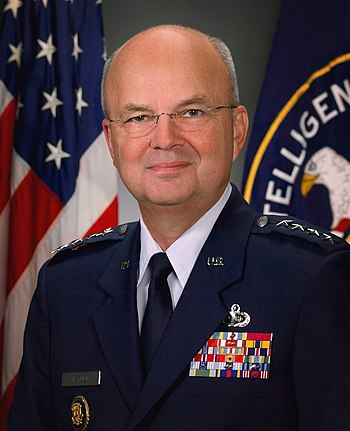 Michael Hayden, director of the CIA.