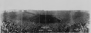 Formal opening of the new Michigan Stadium, An...