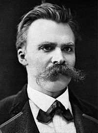 Friedrich Nietzsche en Basilea, 1875 aprox.