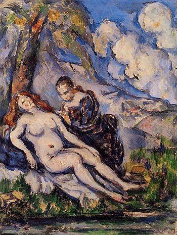Paul Cezanne Bathsheba 1