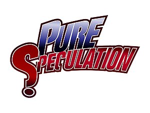 English: The Pure Speculation Festival Logo