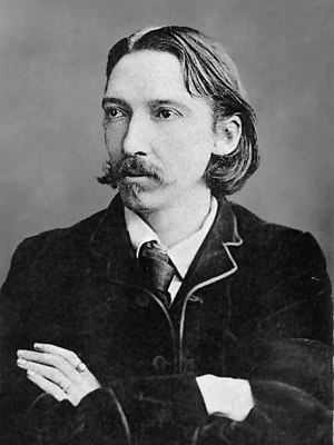 English: Photograph of author Robert Louis Ste...