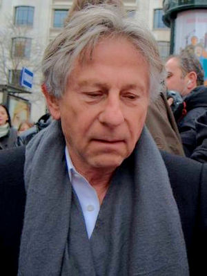 English: Roman Polanski in Paris at the lunch ...