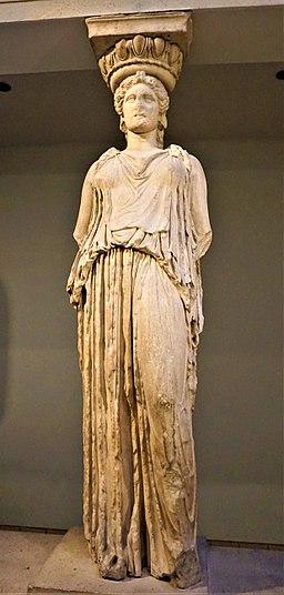 The Erechtheion Caryatid - British Museum - Joy of Museums