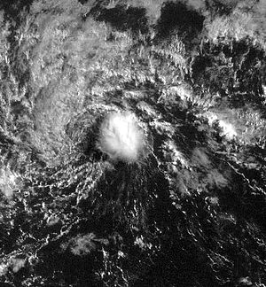 Satellite image of Tropical Depression One-C i...
