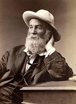 Albumen print of a photograph of American poet...