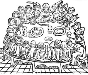 Canterbury Tales, Woodcut 1484