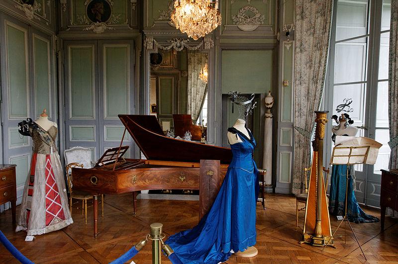 Château de Valençay Salon de musique